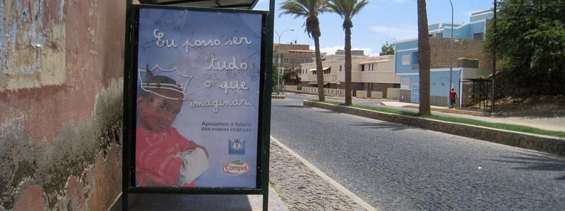 Publicité enfance Cap-Vert