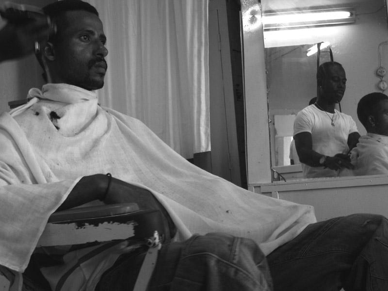 Cape Verde in the barbershop